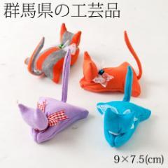 抱きつき猫ちゃん 群馬県の工芸品 Hug cat, Gunma craft
