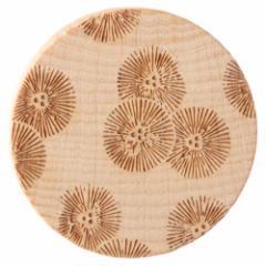 唐紙アクセサリー ブローチ 笠松 木製アクセサリー 京都府の工芸品 Karakami wooden accessory, Brooch