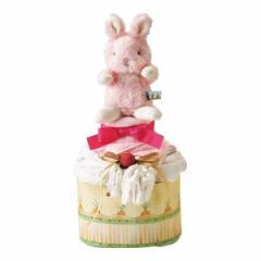 【内祝い お返し】バニーズバイザベイ おむつケーキ バンブーガーゼおくるみ付き<※【出産 出産内祝い 父の日 出産祝い ギフト 結婚内