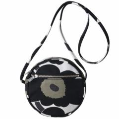 母の日 ギフト マリメッコ バッグ ショルダーバッグ Pieni Unikko Liia ホワイト×ブラック 048293 030 送料無料
