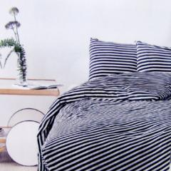 還元祭 母の日 ギフト マリメッコ デュベカバー 掛け布団カバー シングル 150×210cm TASARAITA タサライタ ホワイト×ブラック ストライ