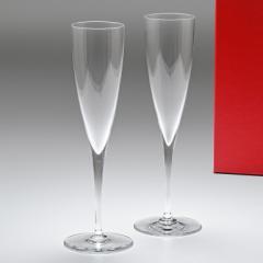 還元祭 母の日 ギフト バカラ グラス ドンペリニヨン シャンパンフルート ペア 23.4cm 150ml 1845244 送料無料