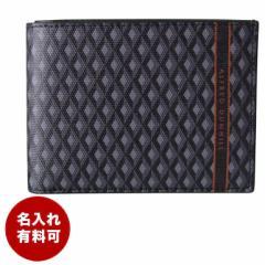 ダンヒル 財布 二つ折り財布 メンズ エンジンターン ラゲッジキャンバス グレー 19R2320CC030 名入れ可有料 ネーム入れ ギフト 父の日 送
