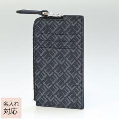 父の日 ダンヒル スマートウォレット カードケース メンズ コインケース フラグメントケース シグネチャー ブラック 21R210ZLT001 名入れ