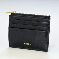 母の日 ギフト フルラ コインケース レディース バビロン 財布 ミニ財布 スマートウォレット 小銭入れ フラグメントケース ブラック PCZ3