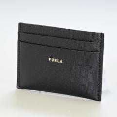 母の日 ギフト フルラ バビロン カードケース レディース 1056914 NERO ブラック PCZ2UNO B30000 O6000 名入れ可有料 送料無料