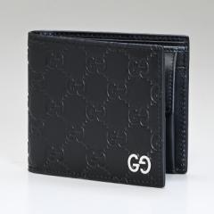 グッチ 財布 二つ折り財布 ドリアン DORIAN GGシグネチャー ブラック 473922 CWC1N 1000 送料無料 プレゼント 実用的 ギフト alevel Alev