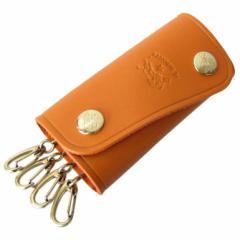 母の日 ギフト イルビゾンテ キーケース オレンジ C0378 P 166 名入れ可有料 ネーム入れ ギフト プレゼント 実用的 送料無料