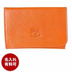 母の日 ギフト イルビゾンテ カードケース 名刺入れ オレンジ C0470 P 166 名入れ可有料 ネーム入れ ギフト プレゼント 実用的 送料無料