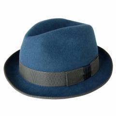 三太郎の日 父の日 ポールスミス ハット 帽子 中折れハット Mサイズ ウール メンズ レディース ユニセックス ブルー ANXA 556C H241 H ギ