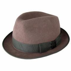 三太郎の日 父の日 ポールスミス ハット 帽子 中折れハット Mサイズ ウール メンズ レディース ユニセックス ダークモーヴ ANXA 556C H24