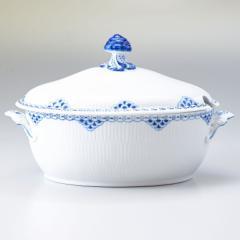母の日 ギフト ロイヤルコペンハーゲン プリンセス ふた付き 深皿 ボウル シチュー皿 スープ皿 26cm×19cm 2000ml 1104181 日本未発売 送