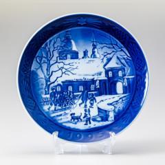母の日 ギフト ロイヤルコペンハーゲン イヤープレート クリスマスプレート 1995年 平成7年 1901095 皿立て付き 名入れ可有料 送料無料