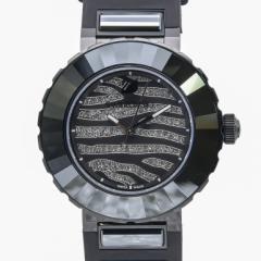 母の日 ギフト スワロフスキー 腕時計 NEW OCTEA SPORT ZEBRA レディース ブラック 5040563 送料無料