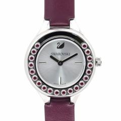 母の日 ギフト スワロフスキー 腕時計 レディース Lovely Crystals Mini バーガンディ 5295331 送料無料