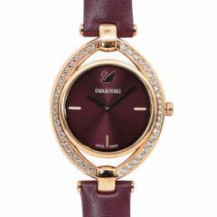 母の日 ギフト スワロフスキー 腕時計 レディース Stella ウォッチ ワインレッド ローズゴールド 5376839 送料無料