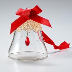 母の日 ギフト スワロフスキー クリスマス オーナメント クリスマスベル S Golden Shadow オブジェ 飾り インテリア 5464882 送料無料