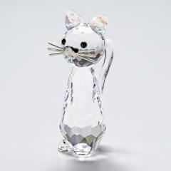 母の日 ギフト スワロフスキー フィギュリン Replicas レプリカネコ 猫 フィギュア オブジェ 置物 5492740 送料無料