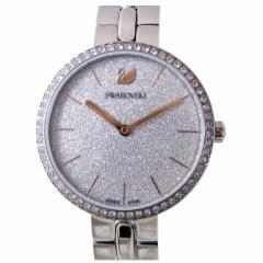 母の日 ギフト スワロフスキー 腕時計 レディース シルバー ブレスレットウォッチ COSMOPOLITAN 5517807 送料無料