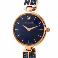 母の日 ギフト スワロフスキー 腕時計 レディース ブルー ブレスレットウォッチ DREAM ROCK 5519317 送料無料