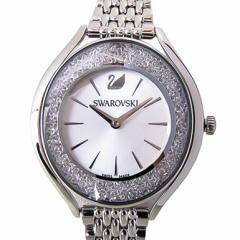 母の日 ギフト スワロフスキー 腕時計 レディース シルバー ブレスレットウォッチ CRYSTALLINE AURA 5519462 送料無料