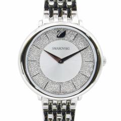 母の日 ギフト スワロフスキー 腕時計 CRYSTALLINE CHIC ウォッチ レディース シルバー 5544583 送料無料