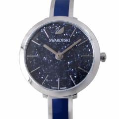 母の日 ギフト スワロフスキー 腕時計 CRYSTALLINE DELIGHT ウォッチ レディース シルバー/ブルー 5580533 送料無料
