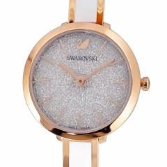 母の日 ギフト スワロフスキー 腕時計 CRYSTALLINE DELIGHT ウォッチ レディース ローズゴールド/ホワイト 5580541 送料無料