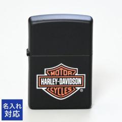 ジッポー ライター ハーレーダビッドソン ブラックカラーつや消し Harley Davidson LOGO 218HD H252 ギフト 父の日