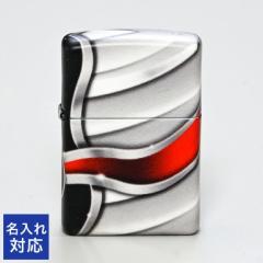 ジッポー ライター 名入れ無料 FLAME DESIGN フレイム デザイン グレー系 49357 父の日 送料無料