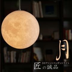 ペンダントライト 20cm 吊り下げライト ダイニング 間接照明 おしゃれ 月のランプ 月型  ムーンライト 月ライト インテリア リモコン対応