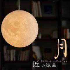 ペンダントライト 25cm 吊り下げライト ダイニング 間接照明 おしゃれ 月のランプ 月型  ムーンライト 月ライト インテリア リモコン対応
