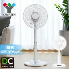 DCモーター 30cmリビング扇風機 風量4段階 (フルリモコン) 入切タイマー付き 静音モード搭載  YLX-LD305(W)/YLX-DGD30(W)  扇風機 DC扇風
