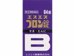 【指定第2類医薬品】 エスエスブロン錠 84錠