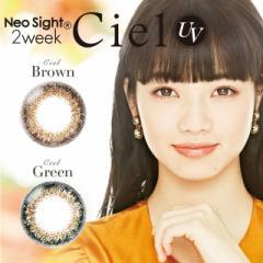 ネオサイト2week Neo Sight 2week 2箱12枚入 2週間装用 度あり 度なし 全2色 14.2mm カラコン  使い捨て コンタクトレンズ 送料無料
