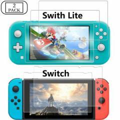 【2枚セット】Nintendo Switch/Switch Lite RTT001 (送料無料)クリアガラスフィルム ブルーライ
