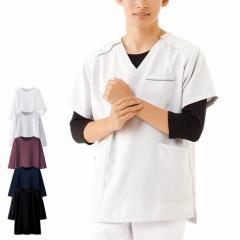 [送料無料キャンペーン開催] ナースリー 看護師 白衣 ナースウェア スクラブインナー(7分袖) 男女兼用 スクラブ 肌着 吸水速乾 医療