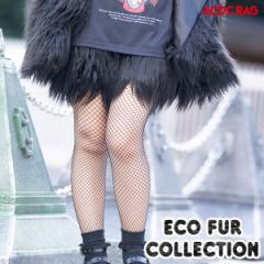 エコファーショートパンツF ブラック ファー パンツ ボトムス 原宿系 ファッション ショート丈 ファンシー メルヘン ゆめかわいい ゆめか