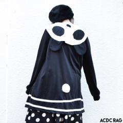 パンダセーラーワンピ | パンダ パーカー セーラー ワンピース ロング丈 長袖 薄手 チュニック 原宿 原宿系 ファッション レディース か