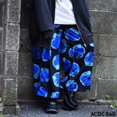 リンゴワイドパンツ パンク ロック ファッション V系 病みかわいい 病み 原宿 原宿系 パンツ ワイドパンツ ロング メンズ レディース 派