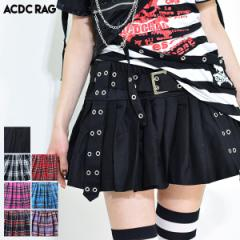 プリーツパンツスカート パンク ロック ファッション V系 原宿 原宿系 スカート ミニスカート プリーツ チェック タータンチェック 赤タ
