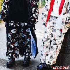 カブキワイドパンツ | 和柄 漢字 日本語 カタカナ パンク ロック ファッション V系 病みかわいい 病み 原宿 原宿系 パンツ ワイドパンツ