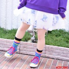 CATレースフレアスカート 猫柄 ねこ柄 ネコ柄 猫 原宿 原宿系 ファッション スカート レディース ゆめかわいい ゆめかわ 透け感 派手カワ