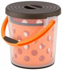 バケツ スプラッシュ10 ブラウン&オレンジ イノマタ化学