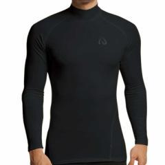 送料無料 ID one (アイディーワン) メンズ JX T32 ハイネックロングTシャツ 服 裏起毛 ロングTシャツ インナー スポーツ アンダー IDon