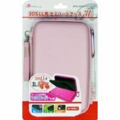 【新品】3DS LL用「セミハードケース 3L」(ピンク)[お取寄せ品]