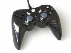 【新品】【PS2HD】【コロンバスサークル】連射プロコントローラ ブラック (PS3/PS2/PC用)[お取寄せ品]