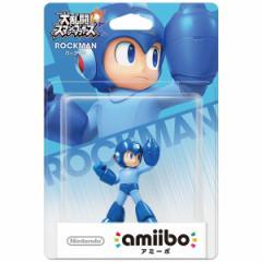 【新品】【WiiUHD】amiibo ロックマン (大乱闘スマッシュブラザーズシリーズ)[在庫品]