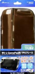 【新品】【WiiUHD】WiiU GamePad用「TPUフレーム」(クリアブラック)[お取寄せ品]