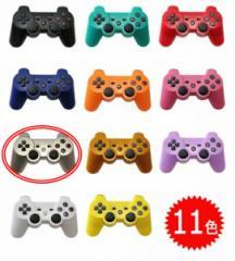 【新品】【PS3HD】【海外製】ワイヤレスコントローラ互換シルバー[お取寄せ品]